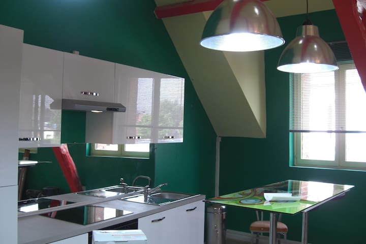 Mon loft tout en couleurs - Somain - Лофт