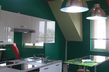Mon loft tout en couleurs - Somain - Loft