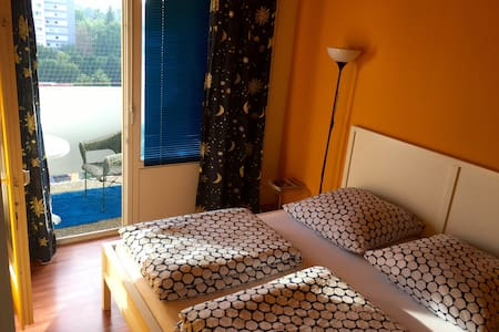 Nice room w. balcony in Frankfurt  - Francoforte