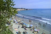One of many blue flag beaches