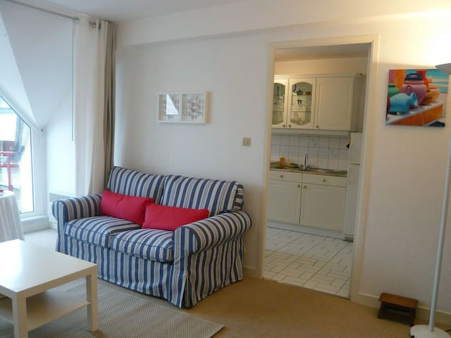 Apartment 47m2 + Garage * Beach 20m - Perros-Guirec - Flat