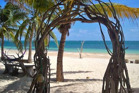 Cabana Luna-2 Queen Beds-Beachfront - Stuga