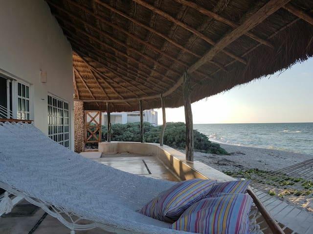 """Casita """"Palapalmar"""" - del Pozo Casa frente al mar"""