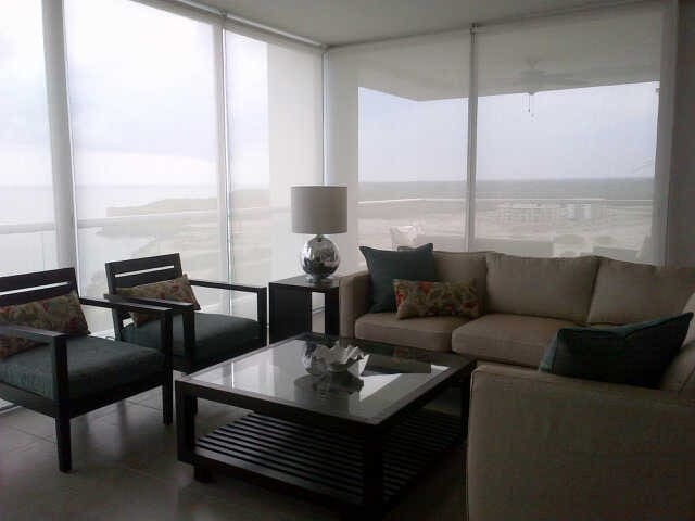 Luxury beach apartment in Panama - San Carlos