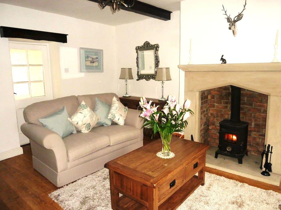 Beautiful cosy lounge