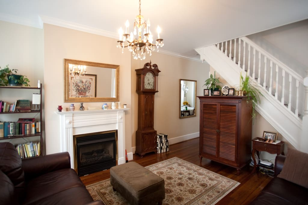 Shabby chic row home 2 bedrooms townhouses for rent - 2 bedroom homes for rent baltimore md ...