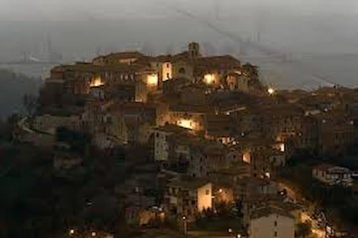 Antica casa di Toscana - Sasso D'ombrone - House