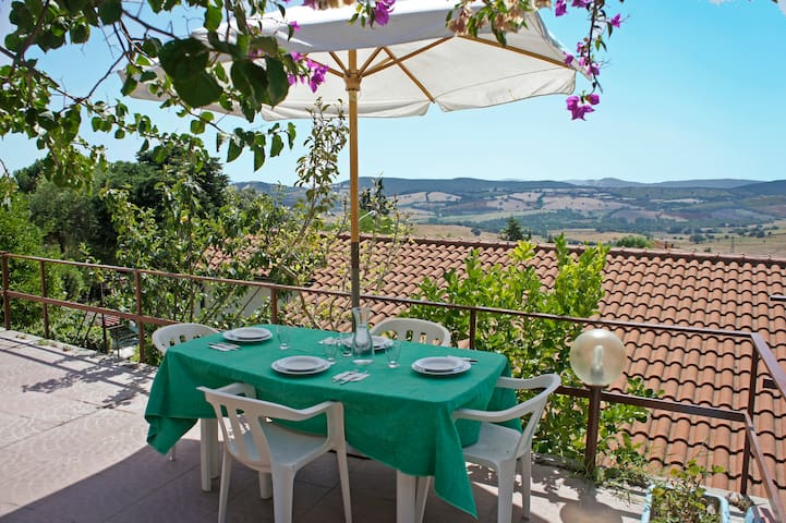House on Maremma's hills with view - Montiano - House