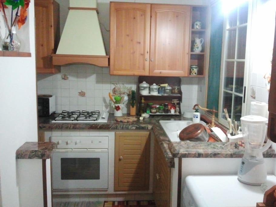 Cucinino, angolo cottura