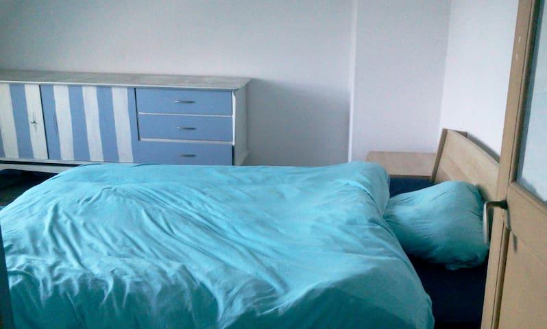 Chambre bleue à Tournai - Tournai - Casa