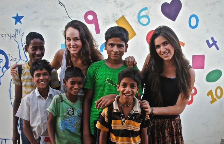 Experience Udaipur and volunteering with kids - Udaipur - Bed & Breakfast