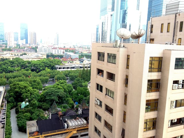 Nice South Facing Apt Nanjing Road - Shanghai - Lägenhet