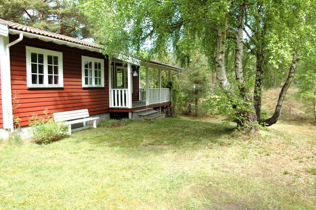 Cottage near beach and plantation maisons louer for Plantation beuh exterieur