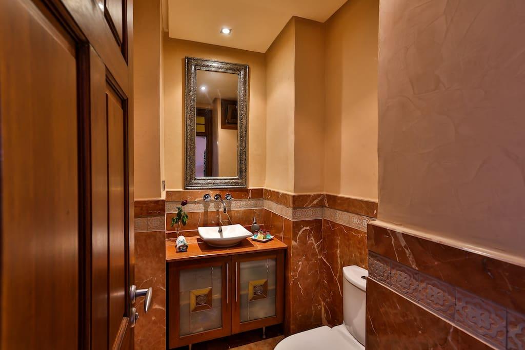 Toilette 1 invitées
