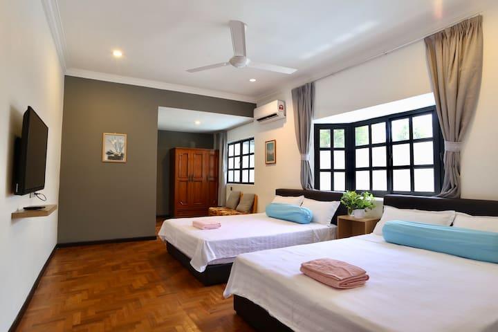 G Beach villa G海边度假别墅 双大床房间205