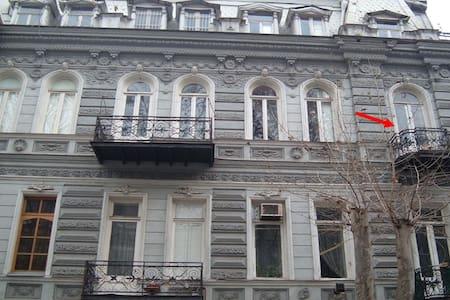 Апарт. с балконом  в самом Центре - Tbilisi