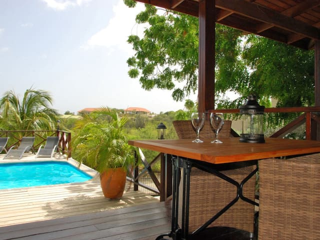 Modern double apartment & pool #1 - Willemstad - Apartment