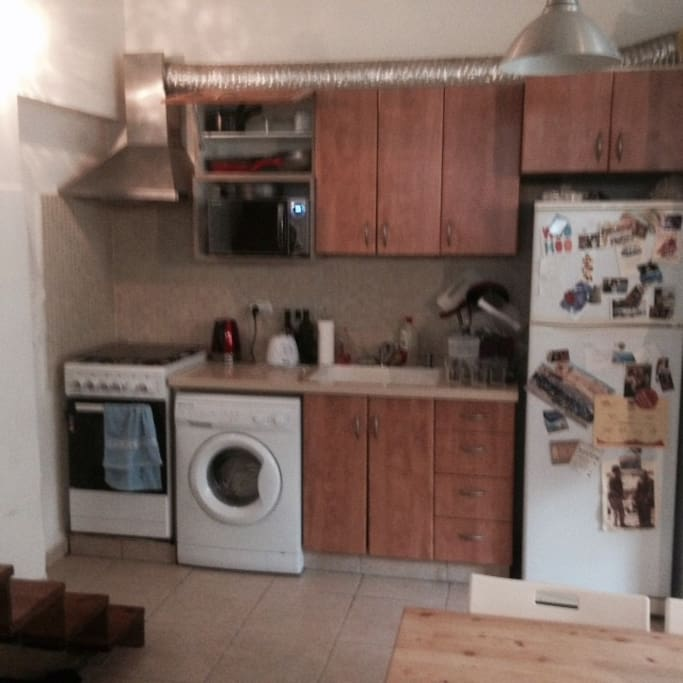 Updated kitchen - stove top, oven, washing machine, microwave, fridge and freezer