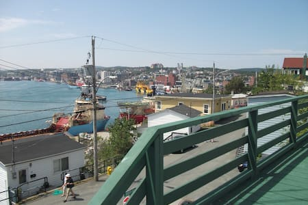 FABULOUS VIEW of ST. JOHN'S HARBOUR - St John's