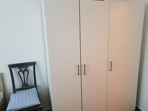 1 Zimmer mit Doppelbett für Frauen oder Paare