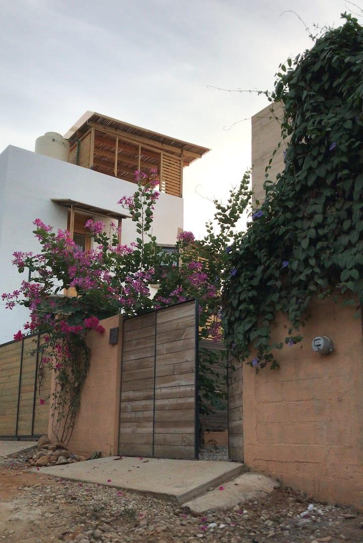 Hermoso loft con terraza privada, Punta Zicatela