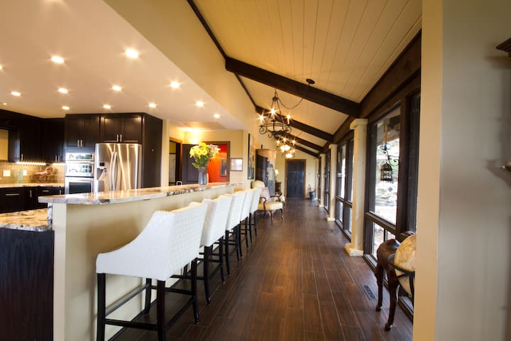 SKY POINT VIEW-Hill Country Ridge Top Retreat - イングラム - 一軒家