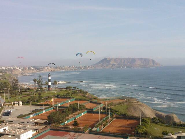 Room at seafront apt in Miraflores - Lima - Wohnung