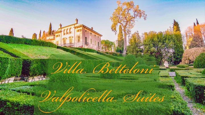 Giardino Valpolicella suite with garden