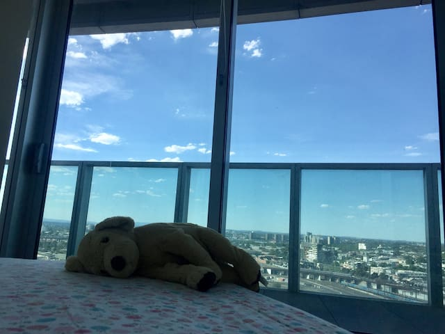 Docklands cozy room with plush to