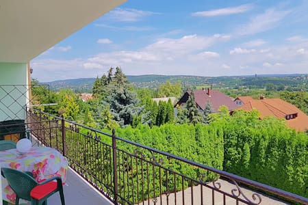 Apartment in Hévíz, with beautiful view
