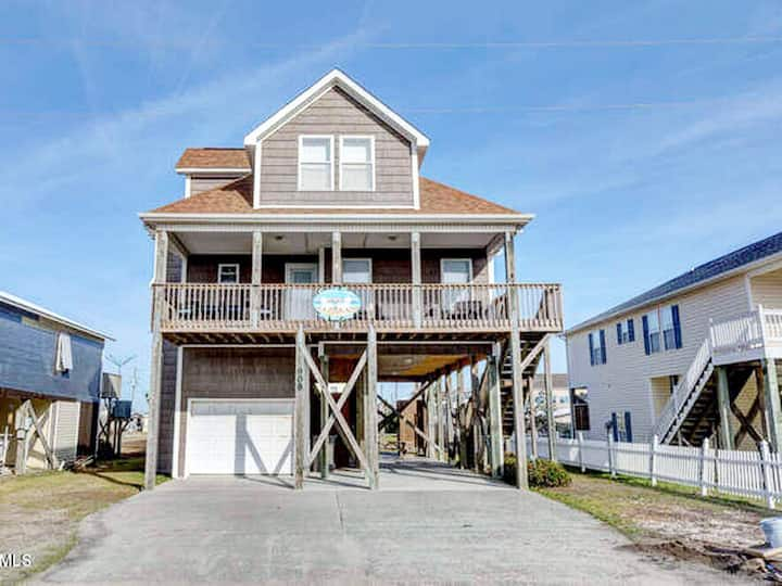 Work from Home at the Beach! 4BR/2BA Pet friendly