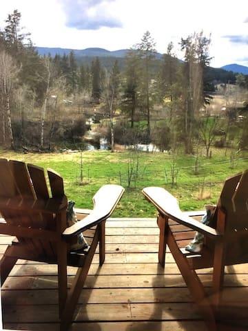 North Okanagan Private Guest Suite on Farm