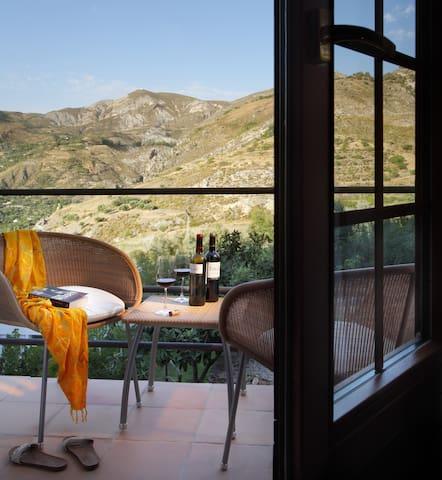 Balcón con vistas a Sierra Nevada