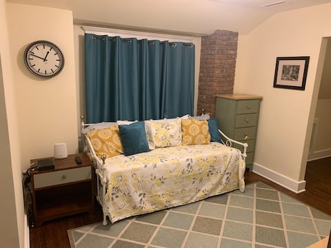 Cozy home away from home . Come relax