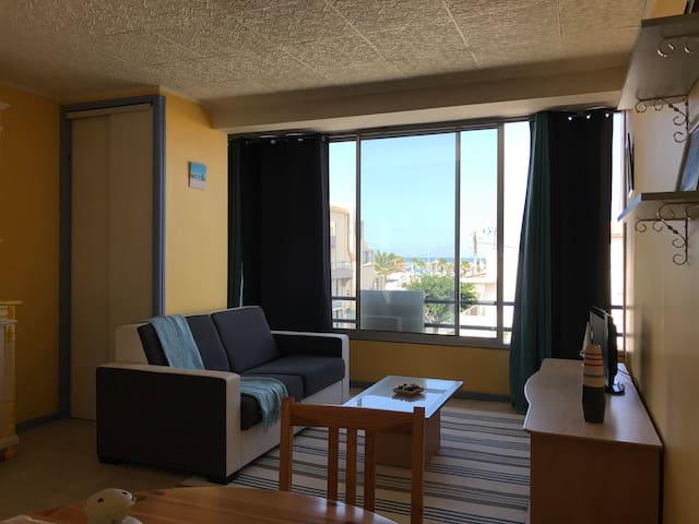 Appartement 50 mètres de la plage Beau soleil 30