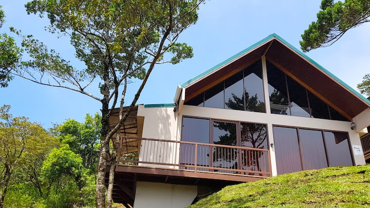 Green Forest 1 bedroom house with heated pool