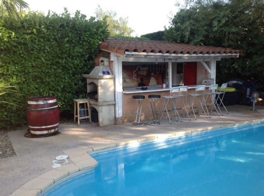 Villa piscine jardin climatis e toulouse houses for for Jardin 130m2