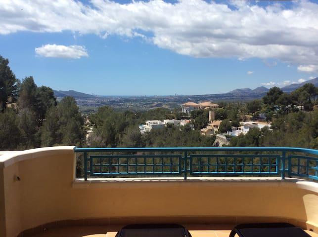 Altea La Vella with a view - Altea - Pis