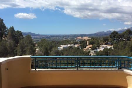 Altea La Vella with a view - Appartement