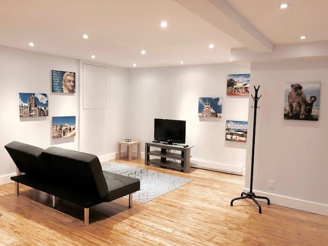 Suite avec entrée privée dans maison rénovée