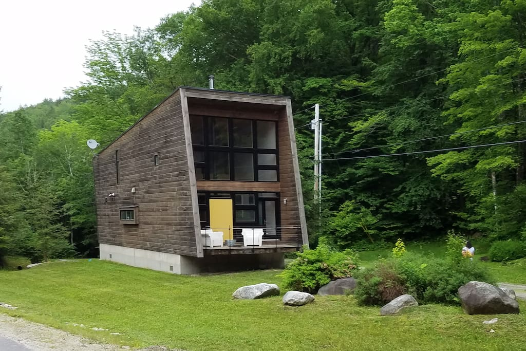 Modern luxury in the heart of the forest