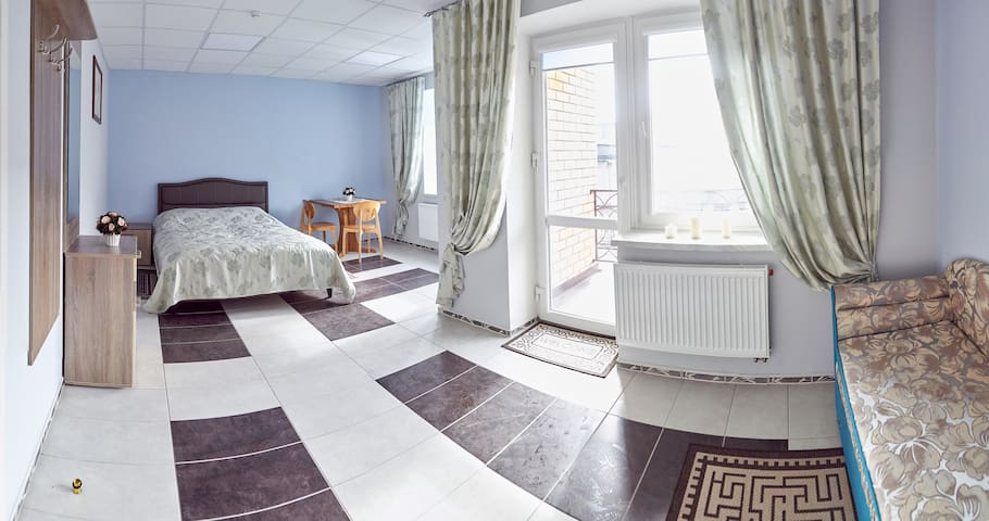 Двухместный номер в центре Полоцка.(с доп.местами) - Polack - Guest suite