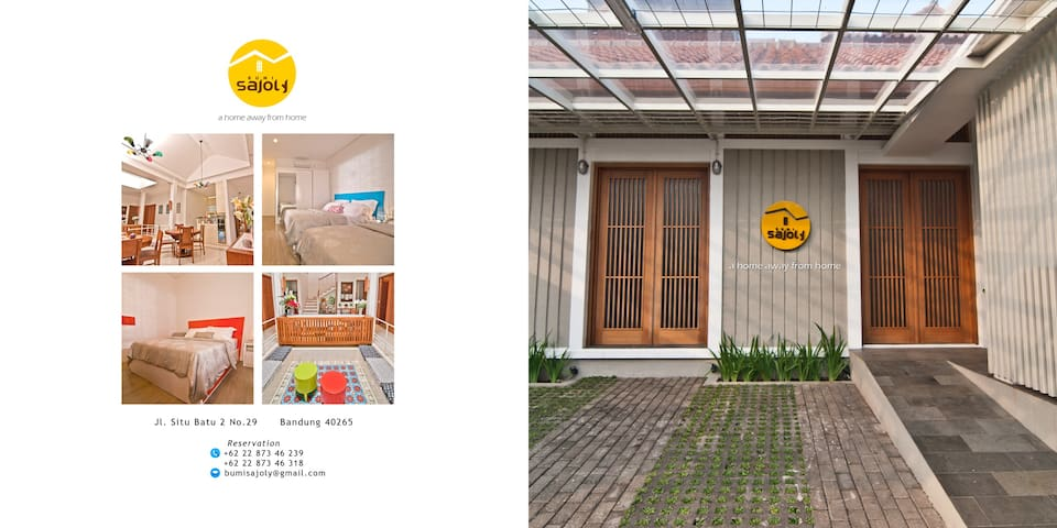 Bumi Sajoly - A Home Away From Home - Bandung - Ev
