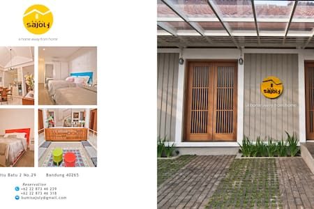 Bumi Sajoly - A Home Away From Home - Bandung