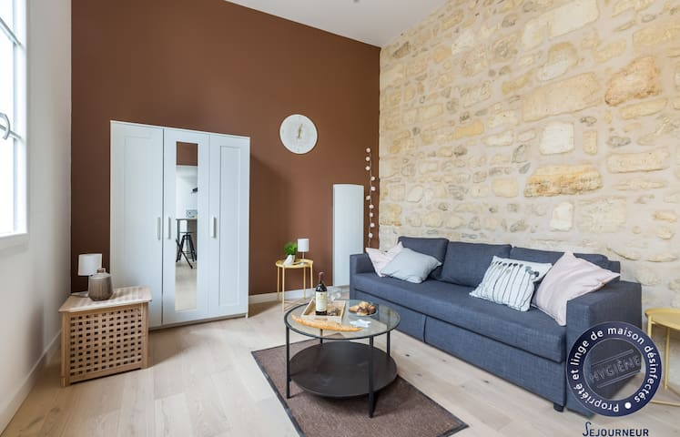 5.Remarkable fully renovated studio in the very center