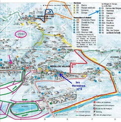 Village Savoyard,Ski grand Massif - Morillon - Apartamento