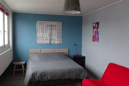 60m² avec deux chambres en plein centre-ville - Boulogne-sur-Mer - Apartemen