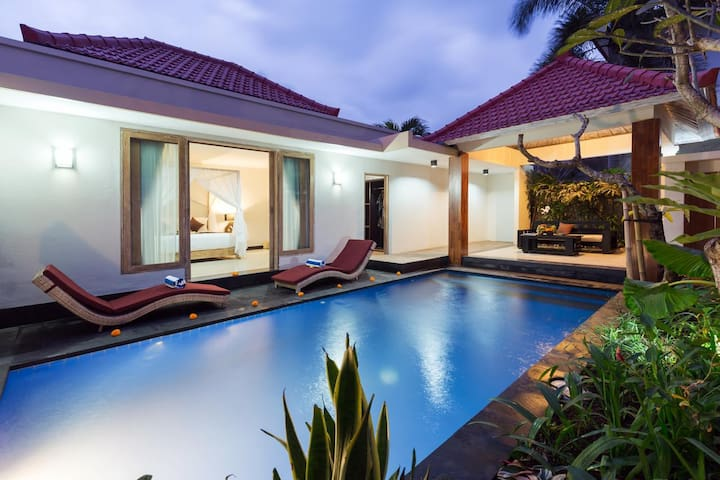 Private Honeymoon Villa in Ubud and Large own pool