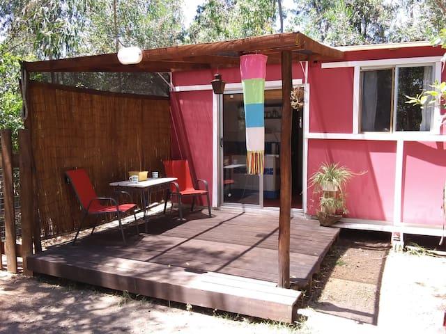 Punta Negra's Pink Cottage
