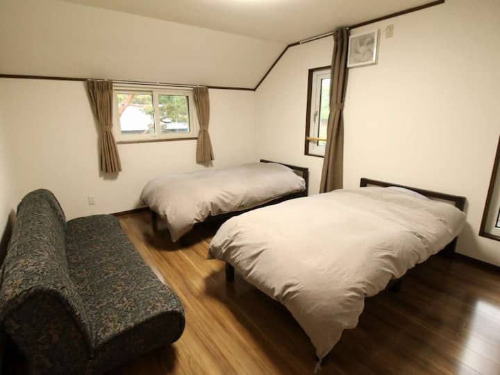 Condominium wrapped in the beautiful forest nature at the foot of Bandai Mountain【しゃくなげNO.21】